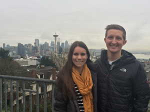 Joe and I took a weekend trip to Seattle. We had so much fun exploring the city together!