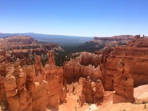 Views from the Navajo Loop at Bryce Canyon